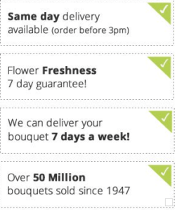 m&s flowers by post