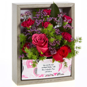 flowercard.co.uk picture frame flowers