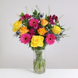Vibrant Rose and Germini - flowers