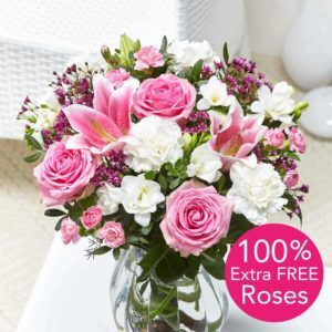 Cottage Garden + 100% Extra FREE Roses