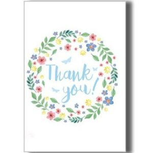 Greetings Card _ Thank You