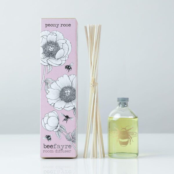 Peony Rose Large Bee Room Diffuser
