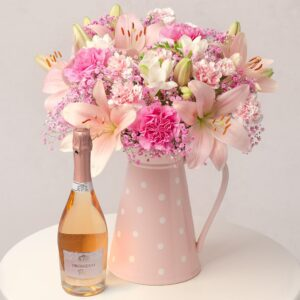Blossom Pink Prosecco Gift